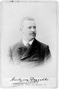 Erich von Drygalski led the First German Antarctic Expedition in 1901.