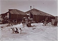 The Main Base Hut of the Australasian Antarctic Expedition