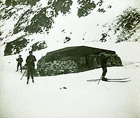 Omond House was built in 1904 by the Scottish National Antarctic Expedition as the first permanent base in Antarctica. It was later sold to Argentina.