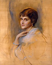 Princess Andrew of Greece and Denmark by Philip de László, 1922. Private collection of Prince Philip, Duke of Edinburgh.
