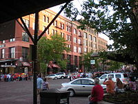 The Old Market in Downtown Omaha is one of the city's premier destinations.