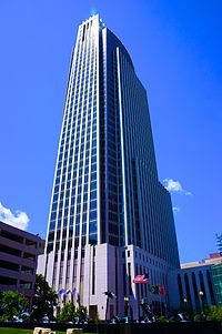 One First National Center has been the tallest building in Omaha since 2002.
