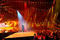 Baku Crystal Hall during the Eurovision Song Contest 2012