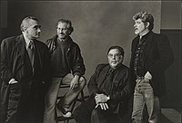 Scorsese, Steven Spielberg, Francis Ford Coppola and George Lucas