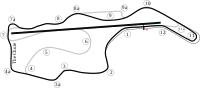 Sonoma Raceway, the road course where the race was held.