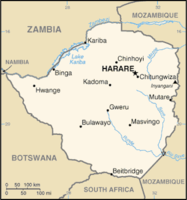 List of populated places in Zimbabwe