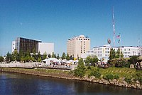 Fairbanks, Alaska's second-largest city and by a significant margin the largest city in Alaska's interior