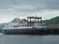 The (named after Tustumena Glacier) is one of the state's many ferries, providing service between the Kenai Peninsula, Kodiak Island and the Aleutian Chain.