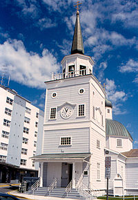 St. Michael's Russian Orthodox Cathedral in downtown Sitka