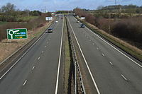 Brackley bypass on the A43