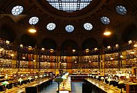 The Richelieu reading room, National Library of France