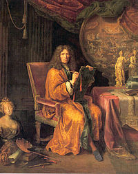 Pierre Mignard, Self-portrait, between 1670 and 1690, oil on canvas, 235 x, The Louvre