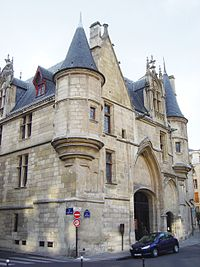 The Hôtel de Sens, one of many remnants of the Middle Ages in Paris