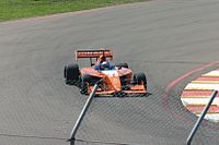Andretti making his Indy Pro Series debut in 2005 on the Streets of St. Petersburg; he won the race.