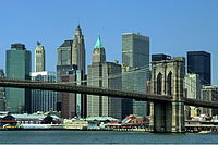New York City has been a dominant global financial center since the 1900s.