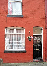 Harrison's place of birth and first home – 12 Arnold Grove