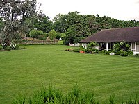 Harrison and Pattie Boyd lived in Kinfauns in Surrey from 1964 to 1970