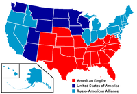 Post-partition United States, as seen in Ghost in the Shell: S.A.C. 2nd GIG and Appleseed.