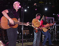 The Tragically Hip performing in Aspen, Colorado, United States, 2007