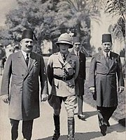 Fuad I of Egypt with Edward, Prince of Wales, 1932