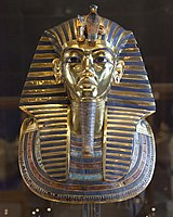 Tutankhamun's burial mask is one of the major attractions of the Egyptian Museum of Cairo