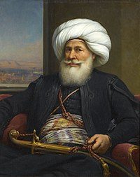 Muhammad Ali was the founder of the Muhammad Ali dynasty and the first Khedive of Egypt and Sudan.