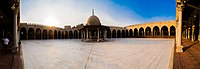 The Amr ibn al-As mosque in Cairo, recognized as the oldest in Africa