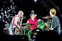 The Red Hot Chili Peppers performing at Rock am Ring in 2016