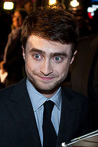 Radcliffe at the London Film Festival screening of Kill Your Darlings, October 2013