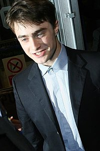 Radcliffe at the December Boys premiere in 2007