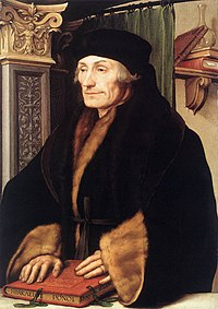 Erasmus of Rotterdam, the Renaissance humanist after whom the Erasmus Programme is named