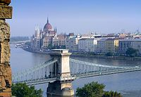 The Danube (pictured in Budapest), is the longest river in the European Union