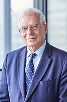 Josep Borrell, High Representative of the Union for Foreign Affairs and Security Policy.