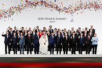 The EU participates in all G7 and G20 summits. (G20 summit in Osaka, Japan, 2019).