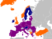 Out of the 27 EU member states, 21 are also members of NATO. Another four NATO members are EU applicants – Albania, Montenegro, Turkey and North Macedonia.