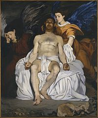 Édouard Manet, The Dead Christ with Angels, 1864