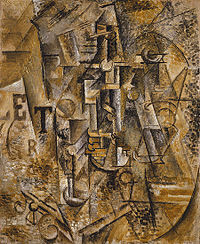 Pablo Picasso, Still Life with a Bottle of Rum, 1911