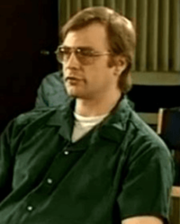 Jeffrey Dahmer in February 1994. He is seen here in an interview granted to Stone Phillips of Dateline NBC
