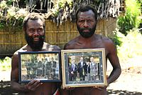 Ni-Vanuatu with pictures of Philip
