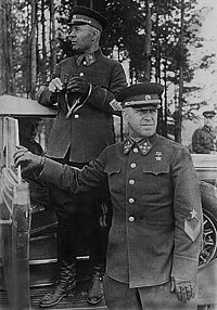 Semyon Timoshenko and Georgy Zhukov in 1940