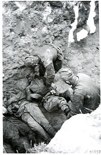 Soviets bury their fallen, July 1944