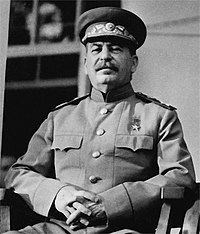 Joseph Stalin led the Soviet Union during World War II.