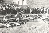 Kaunas pogrom in German-occupied Lithuania, June 1941