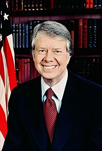 President Jimmy Carter was elected in 1976 and defeated in 1980