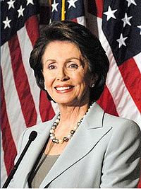 Nancy Pelosi of California was the first woman to serve as Speaker of the House of Representatives