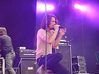 Cornell performing in Lisbon in 2009 at the Optimus Alive!09