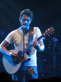 Cornell performing with Audioslave at the 2005 Montreux Jazz Festival