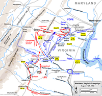 Northern Virginia Campaign, August 7–28, 1862