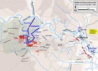 May 3. Lee's assaults against Chancellorsville