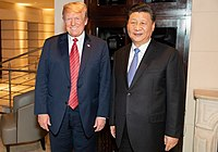 Donald Trump met with Chinese leader Xi Jinping at 2018 G20 Summit.